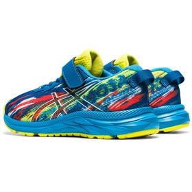 asics Pre Noosa Tri 13 PS Shoes Kids, reborn blue/sour yuzu